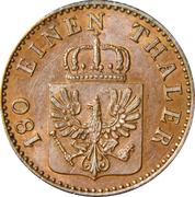 2 Pfenninge - Wilhelm I – obverse