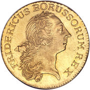 1 Friedrich d'Or - Friedrich II (Trade Coinage) – obverse