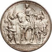2 Mark - Wilhelm II (Victory over Napoleon at Leipzig) – obverse