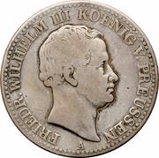 1 Thaler - Friedrich Wilhelm III. (Mining Thaler) – obverse
