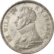 1 Thaler - Friedrich Wilhelm III – obverse