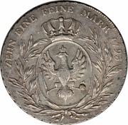 1 Conventionsthaler - Friedrich Wilhelm II – reverse
