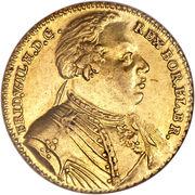 ½ Wilhelm d'Or - Friedrich Wilhelm I. – obverse