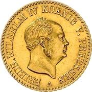 1 Friedrich d'Or - Friedrich Wilhelm IV – obverse