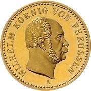 1 Krone - Wilhelm I. – obverse