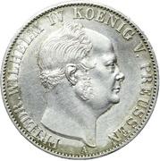 1 Thaler - Friedrich Wilhelm IV – obverse