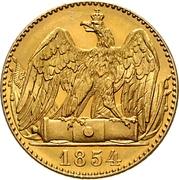 2 Friedrich d'Or - Friedrich Wilhelm IV – reverse