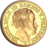 ½ Friedrich d'Or - Friedrich Wilhelm III. – obverse