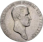 ⅓ Reichsthaler - Friedrich Wilhelm III – obverse