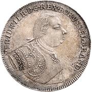 ½ Thaler - Friedrich Wilhelm I – obverse