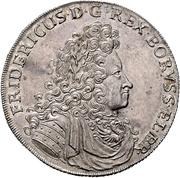 1 Thaler - Friedrich I – obverse