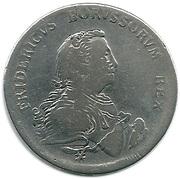1 Reichsthaler - Friedrich II. (Type 1 - armored bust) – obverse