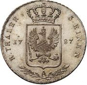 ⅓ Reichsthaler - Friedrich Wilhelm II – reverse