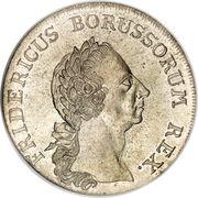1 Reichsthaler - Friedrich II. – obverse