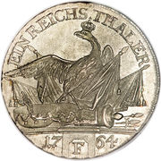 1 Reichsthaler - Friedrich II. – reverse