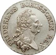 1 Reichsthaler - Friedrich II. (mintmark between dots) – obverse