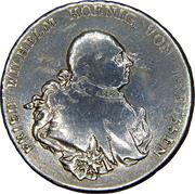 1 Reichsthaler - Friedrich Wilhelm II – obverse