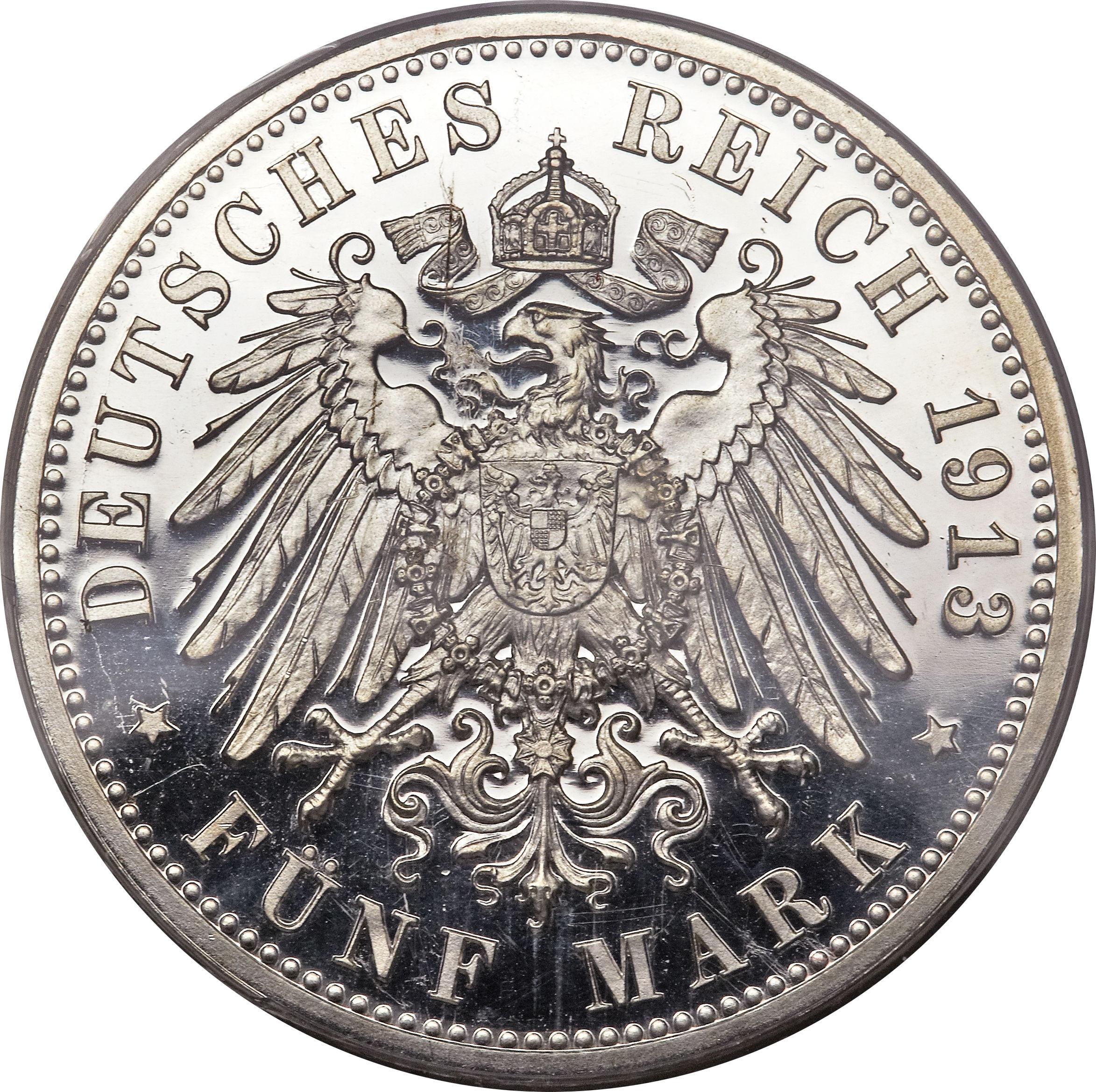 Deutsches Reich 1913