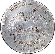 1 Reichsthaler - Friedrich Wilhelm II – reverse