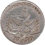 ¼ Reichsthaler - Friedrich II. – reverse
