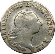 ¼ Reichsthaler - Friedrich II. – obverse