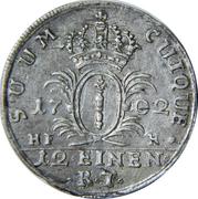 1/12 Thaler - Friedrich I – reverse