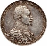 3 Mark - Wilhelm II (Reign) – obverse