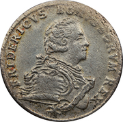 1/12 Reichsthaler - Friedrich II. – obverse