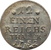 1/12 Reichsthaler - Friedrich II. – reverse