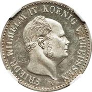 ⅙ Thaler - Friedrich Wilhelm IV – obverse