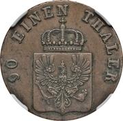 4 Pfennige - Friedrich Wilhelm IV – obverse
