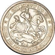 3 Mark - Wilhelm II (Passing of Mansfeld) – obverse