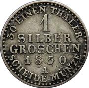 1 Silber Groschen - Friedrich Wilhelm IV -  reverse