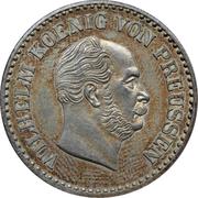 1 Silbergroschen - Wilhelm I – obverse