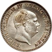 2½ Silber Groschen - Friedrich Wilhelm IV – obverse