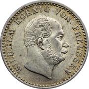 2½ Silber Groschen - Wilhelm I – obverse