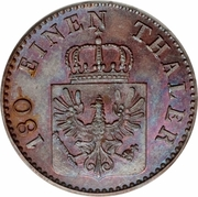 2 Pfenninge - Friedrich Wilhelm IV -  obverse