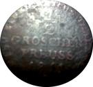 ½ Groschen - Friedrich Wilhelm III – reverse
