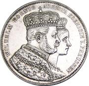1 Thaler - Wilhelm I (Coronation) – obverse