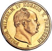 1 Krone - Friedrich Wilhelm IV – obverse