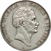 2 Thaler / 3½ Gulden - Friedrich Wilhelm III – obverse