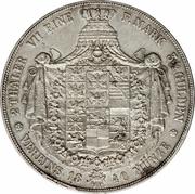 2 Thaler / 3½ Gulden - Friedrich Wilhelm III – reverse