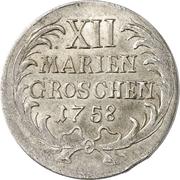 12 Mariengroschen - Friedrich II. – reverse