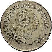 8 Gute Groschen - Friedrich II. – obverse