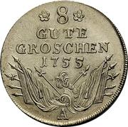 8 Gute Groschen - Friedrich II. – reverse