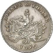 ½ Thaler - Friedrich II. – reverse
