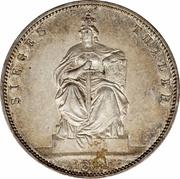 "1 Thaler - Wilhelm I (""Siegestaler"") – reverse"