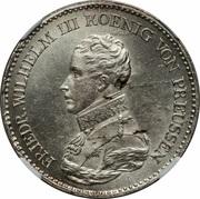 1 Thaler - Friedrich Wilhelm III -  obverse