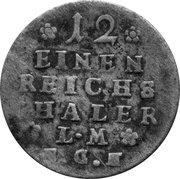 1/12 Thaler - Friedrich II. – reverse