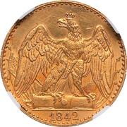 ½ Friedrich d'Or - Friedrich Wilhelm IV – reverse
